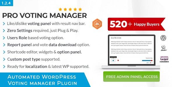 BWL Pro Voting Manager v1.2.4