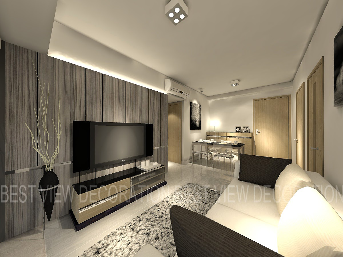 Living Room Decoration 3d