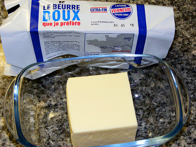 Laiterie de Verneuil butter. Photo by Loire Valley Time Travel.