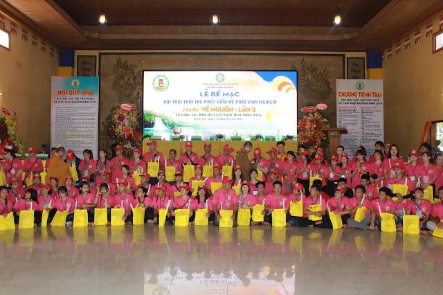Hơn 1000 trại sinh tham dự lễ khai mạc Hội trại Tuổi trẻ Phật giáo Hệ phái Vĩnh Nghiêm lần 3 với chủ đề 'Về Nguồn' - Ảnh 6
