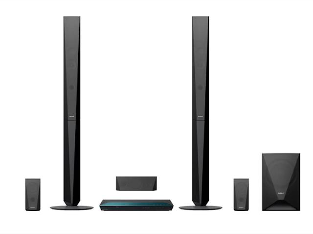 Sony BDV-E4100 Real 5.1ch Dolby Digital Tall boy Blu-ray Home Theatre System