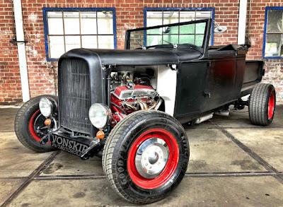 Ford 1932 Custom Aluminum Radiator Ratrod Rat Rod Chevy Dodge Custom Low Hi Boy