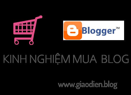 Kinh nghiệm khi mua Template Blogspot