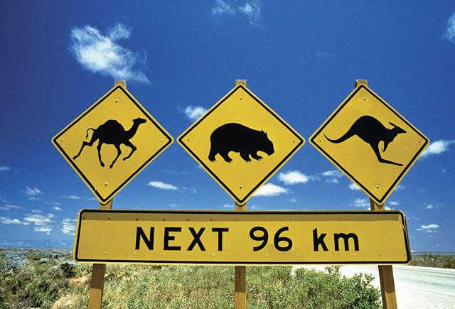Road Sign, SA