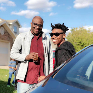 Mayorkun Celebrates His Dad On His Birthday After They Got Reunited (VIDEO)