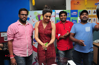 Actress Rakul Preet Singh Latest Pictures at Radio City  0221