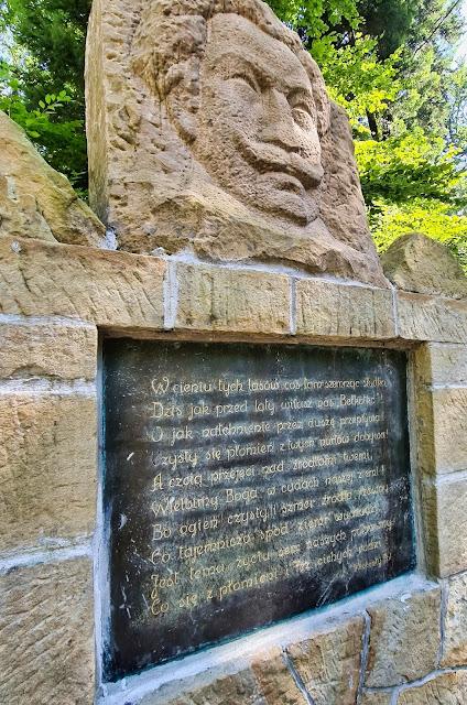 Pomnik Wincentego Pola - Bełkotka Iwonicz-Zdrój