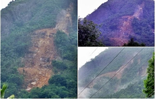Another landslide report at Aranayaka