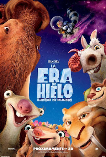 Ice Age: Collision Course (BRRip 1080p Dual Latino / Ingles) (2016)