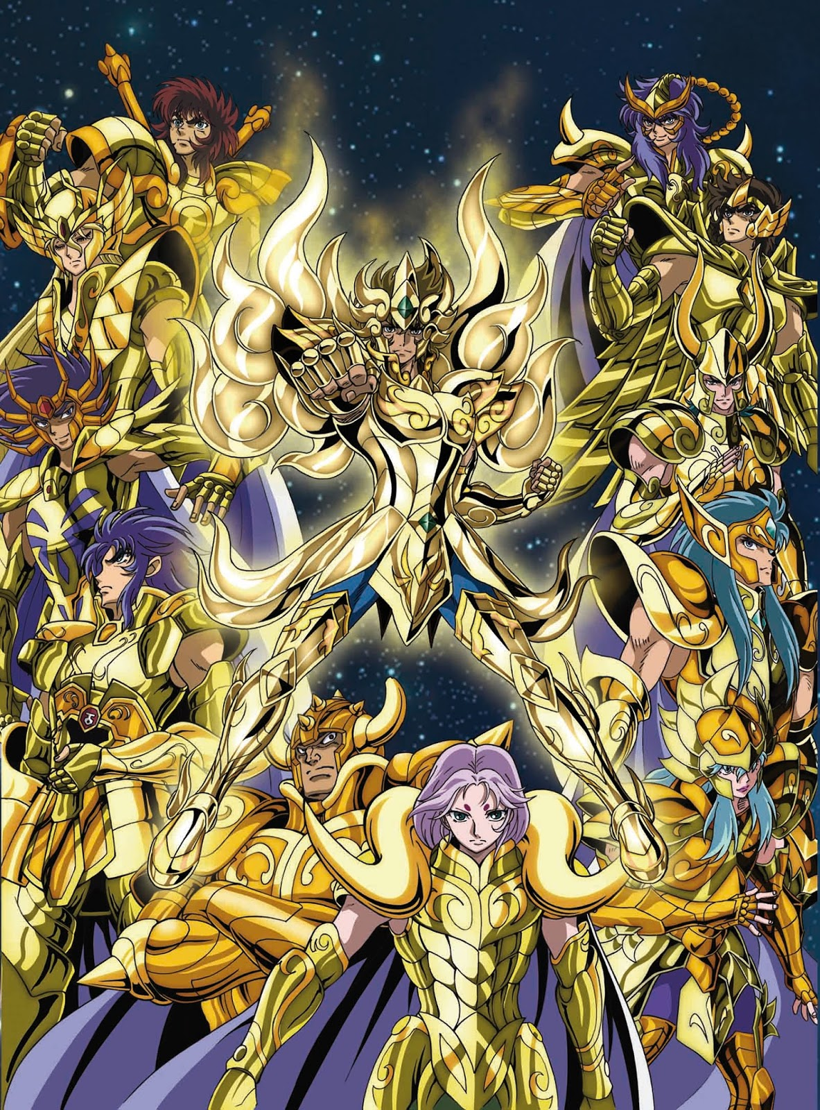 Saint Seiya Soul of Gold DVD Vol. 1 Castellano - DVD