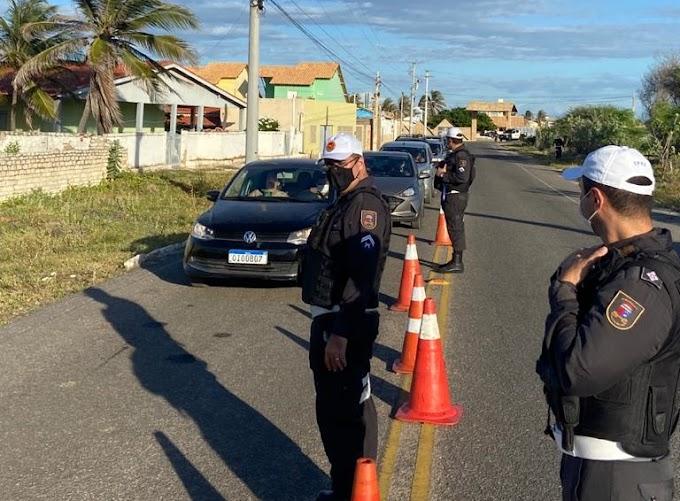 Lei Seca autua 85 motoristas por embriaguez ao volante durante operações em Tibau, Mossoró e Assú