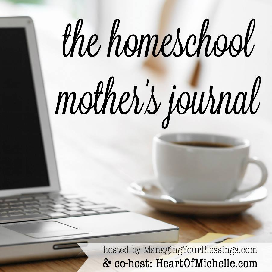 In this week's Homeschool Mother's Journal, I share the progress I'm making in various areas of my life, including my children's bipolar disorder.