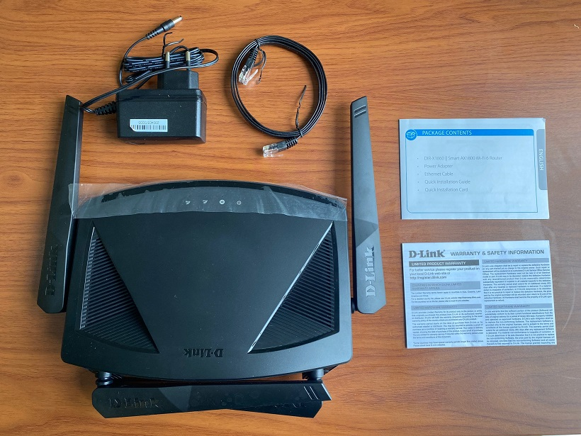 D-Link Mesh WiFi 6 Router Review: Unboxing and set up