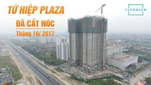 Tứ Hiệp Plaza có tiến độ xây dựng rất chuẩn