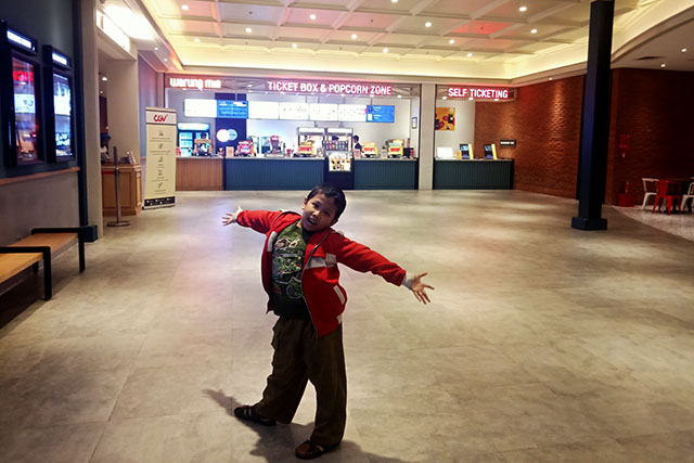 Bioskop CGV Buaran Plaza - Lobby