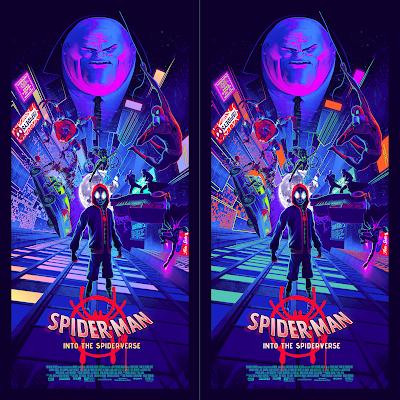 Spider-Man: Into the Spider-Verse Screen Print by Juan Ramos x Grey Matter Art