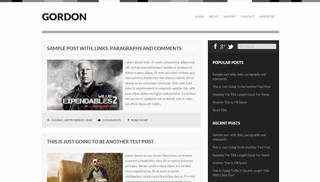 Gordon-Blogger-Free-Template-By---In-Hindii