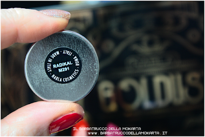 RADIKAL recensione eyeshadow ombretto  goldust collection Nabla cosmetics