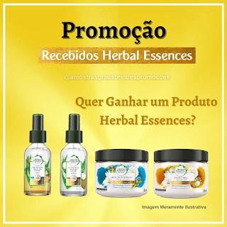 Promoção Herbal Essences