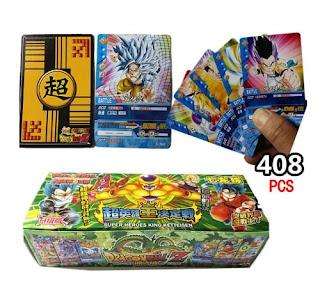 coleccion de cartas dragon ball