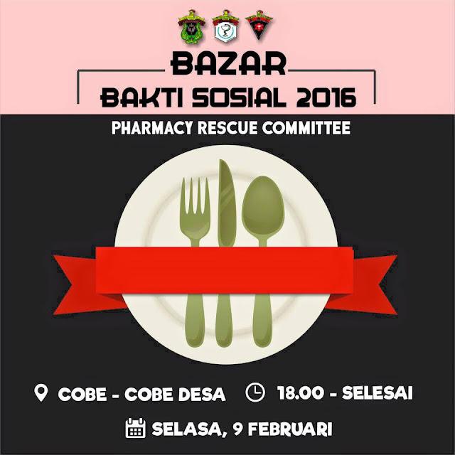 Bazar Bakti Sosial 2016 PRC FFUH