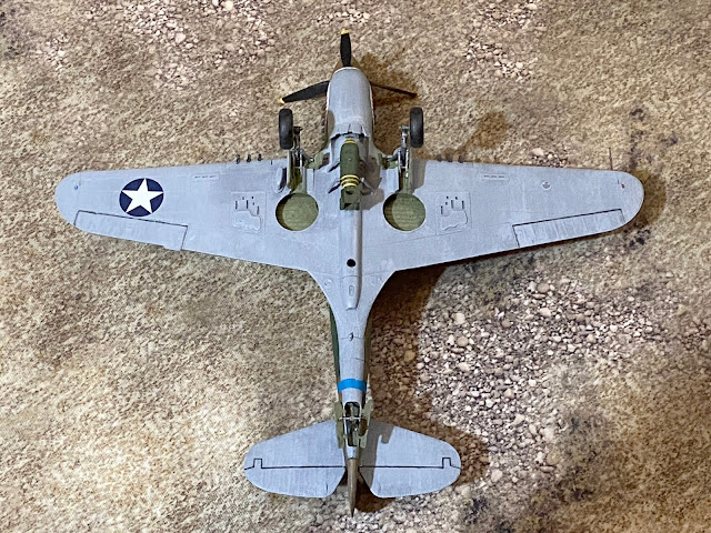 Hasegawa 1/48 P-40E 23rd Fighter Group, China, 1942
