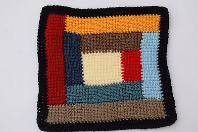 7 - Crochet Imagen Colcha de restos de lana a crochet y ganchillo por Majovel Crochet