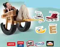 Logo Concorso ''Libera la tua creatività'' e con Henkel vinci 220 buoni spesa da 50€