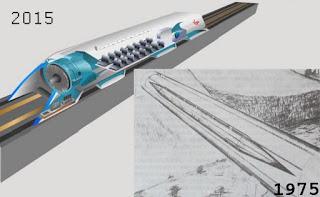предыстория hyperloop - проекты1975 года