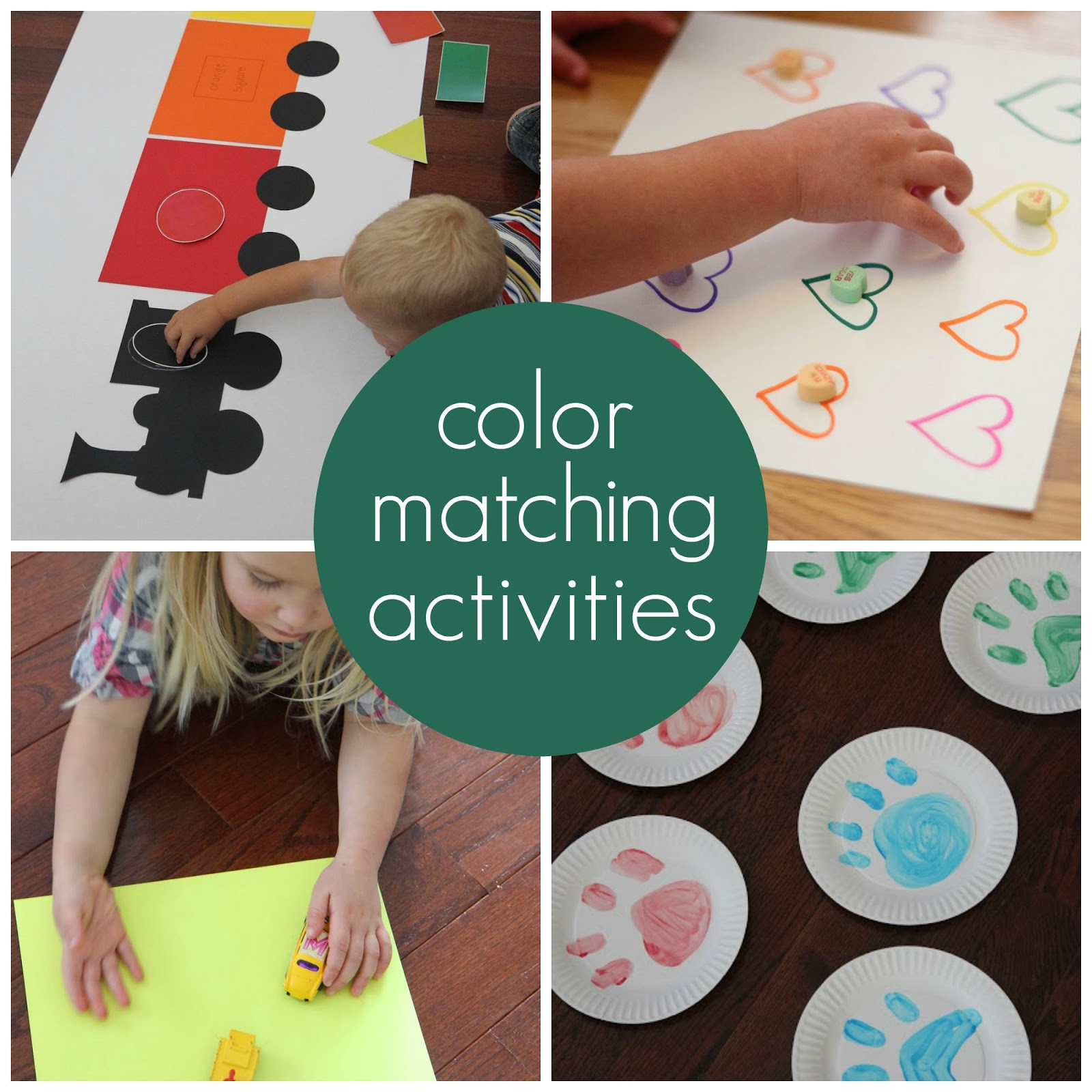 Toddler Approved Matching Activities For Kids