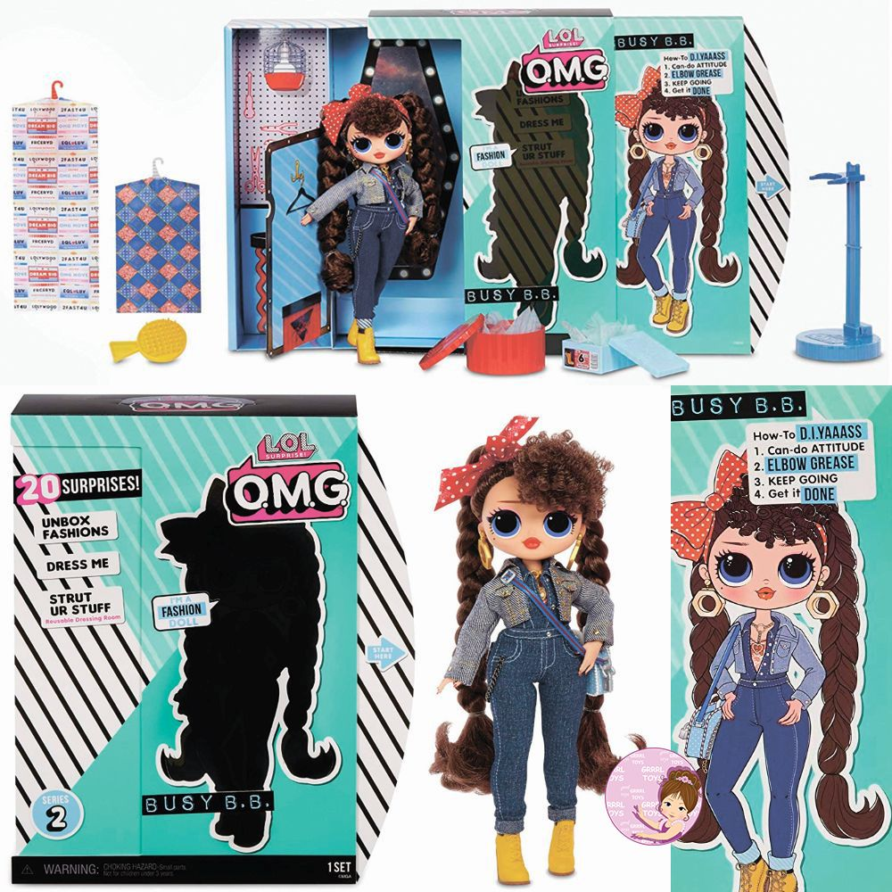 Busy B.B. L.O.L. Surprise O.M.G. fashion doll from series 2