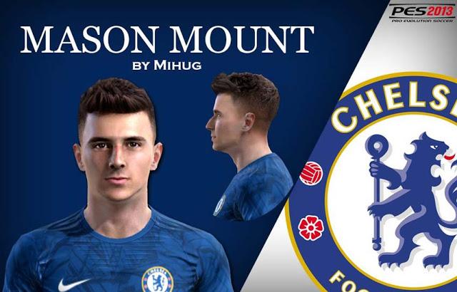 ultigamerz: PES 2013 Mason Mount (Chelsea) Face 2020-21