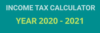 Income Tax Calculator for year 2021