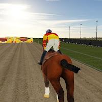 Horse riding game