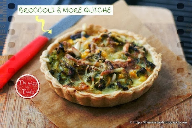 quiche ai broccoli
