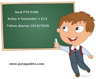 Contoh Soal PTS / UTS PJOK Kelas 5 Semester 1 K13 Tahun Ajaran 2019/2020