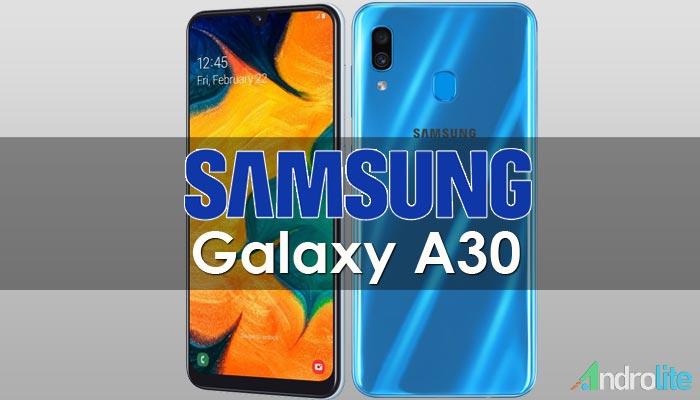 Harga Samsung Galaxy A30 dan Spesifikasi Lengkap