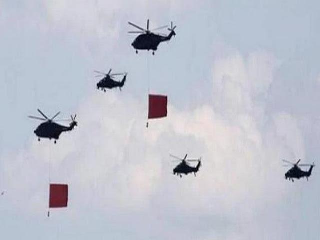 एलएसी पर देखा गया चीनी का हेलीकॉप्टर्स, मारे गए चीनी सैनिकों का लेने आए शव