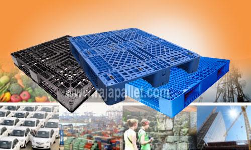 Pallet Plastik Cocok dan Tepat untuk Industri Anda
