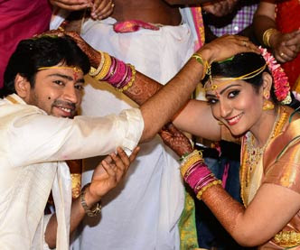 Allari Naresh at wedding