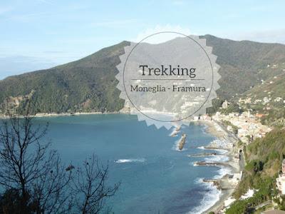 trekking sul sentiero verdeazzurro da Moneglia a Deiva marina a Framura