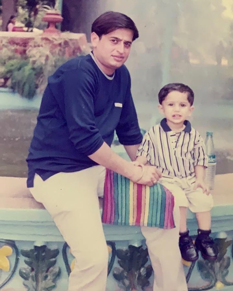 Bhavin Bhanushali childhood photo