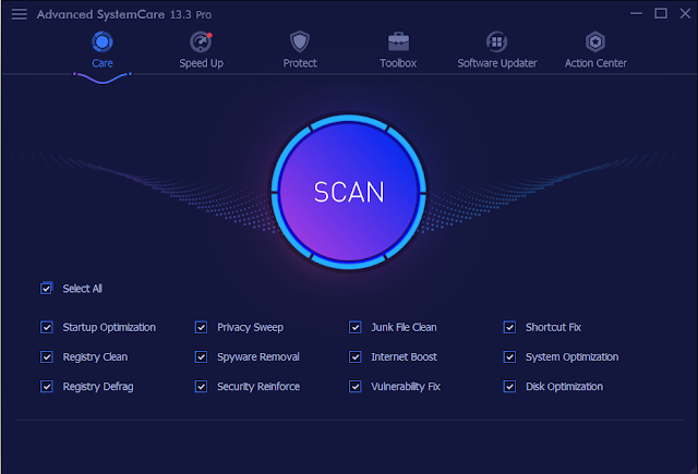 Screenshot IObit Advanced SystemCare PRO 13.3.0.232 Full Version