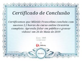 certificado-udemy-mileide-oratoria-videos