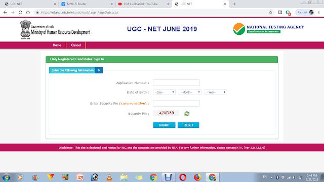 UGC NTA Net Admit card download kaise kare