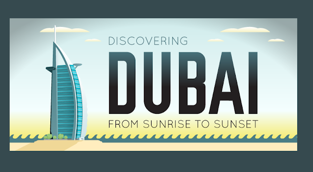 Discovering Dubai: From Sunrise To Sunset #Infographic