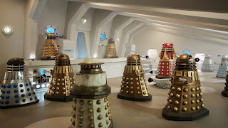 The Dalek control room