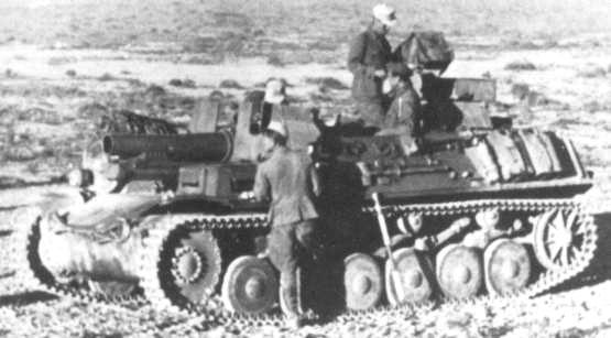 Sturmpanzer II (15 cm s.I.G.33B Sfl)