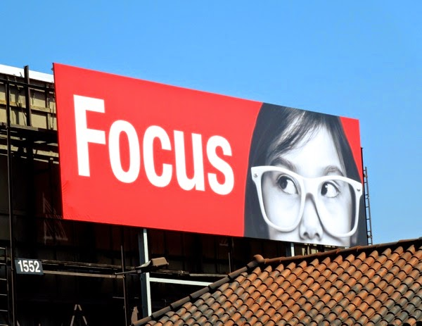 Focus spectacles billboard