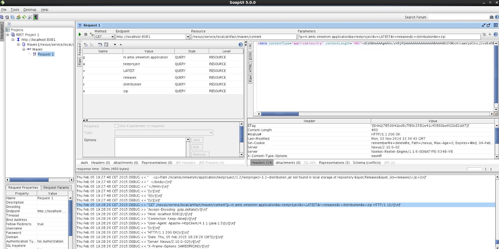 Oracle SOA / Java blog: Sonatype Nexus: Retrieving artifacts using